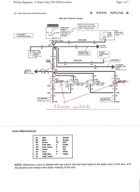ford f 350 duty wiring diagram 2004 f250 f