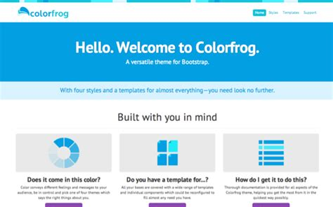 bootstrap themes free blue 25 awseome twitter bootstrap themes for better