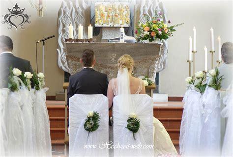 Dekoration Kirche Hochzeit by Kirchendekoration Und Dekoration F 252 R Trauung Im Freien