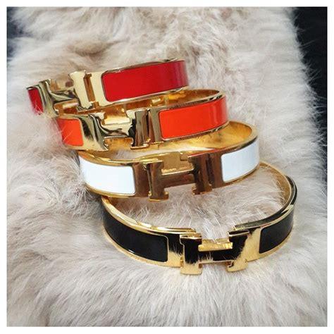 Gelang Gucci Titanium gelang hermes perhiasan trendy