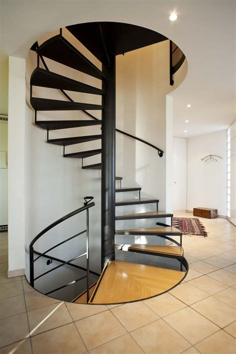 Spiral Staircase by 33 Flamboyant Modern Staircase Designs