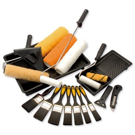 home decorating tools paint brushes rollers and other stuff