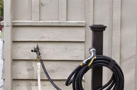 simple diy hose holder simply organized
