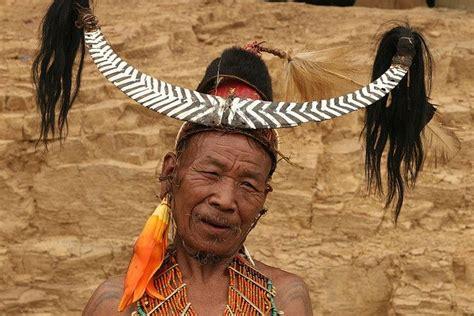 naga tribe tattoo india nagaland konyak naga people at wakching village
