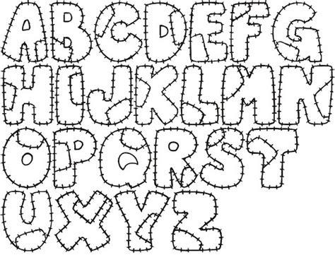 moldes de letras del abecedario para carteleras molde de letras para patchwork a photo on flickriver