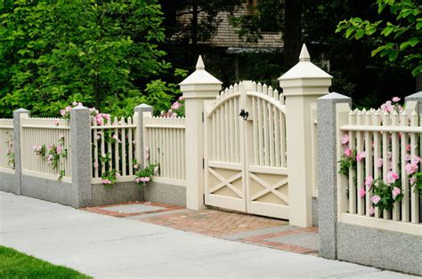 81 Fence Designs And Ideas Front Yard Backyard Home Fences Designs