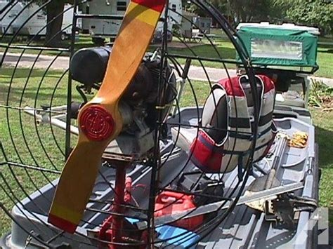 small air boat motor for sale in lakemoor illinois - Airboat With Outboard Motor