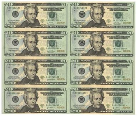 printable money wrapping paper treough uncut currency wrapping paper