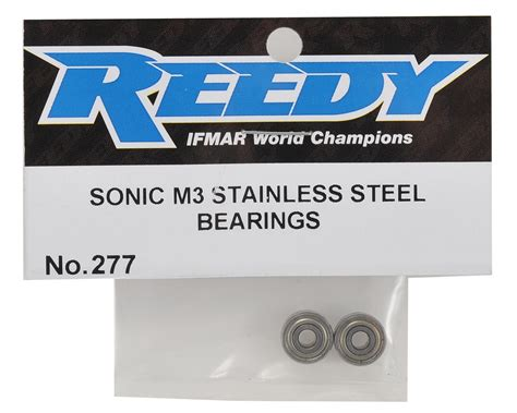 277 Reedy 540 M3 Stainless Steel Bearing Set reedy 540 m3 stainless steel bearing set 2 asc277