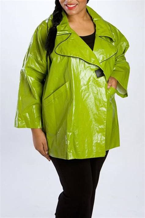 design today jacket design today limegreen rain jacket from charlotte by