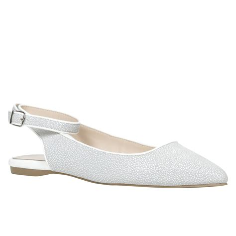 white flat pointed shoes aldo gauma pointed toe flat shoes in white lyst