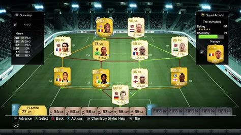 arsenal invincibles squad the invincibles 1 arsenal legends fifa 14 ultimate team