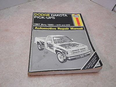 Dodge Durango Amp Dakota Pick Up Haynes Repair Manual 163 3