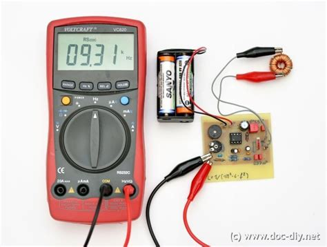 www doc diy net simple inductance meter