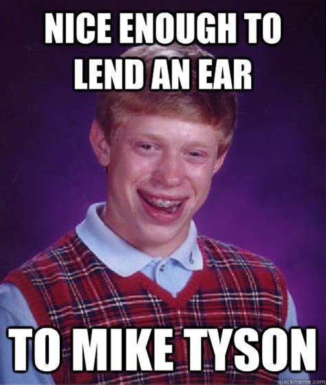 Tyson Meme - mike tyson ear meme related keywords mike tyson ear meme