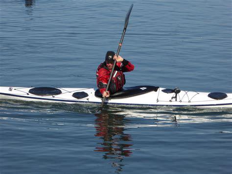 sculling boat balance boat control san diego kayak club