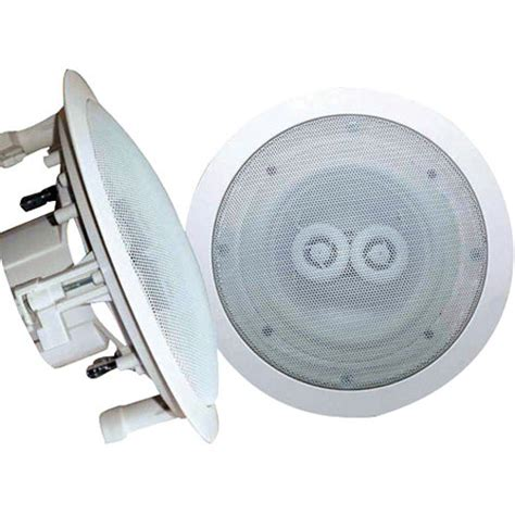 Pyle In Ceiling Speakers by Pyle Pro Pwrc62 6 5 Quot Weatherproof In Ceiling Speaker Pwrc62