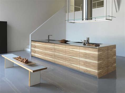 large kitchen island with wooden finish twenty by