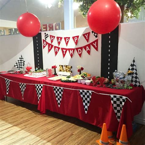 cing themed table decorations 17 colorful disney cars ideas for shelterness