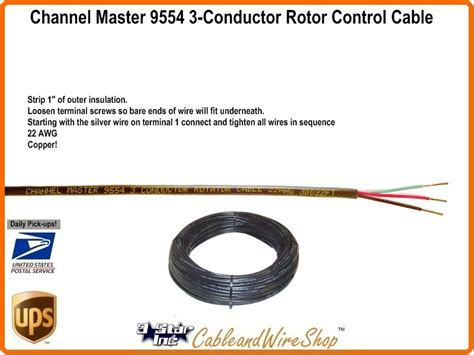 channel master antenna rotor wiring diagram 43 wiring