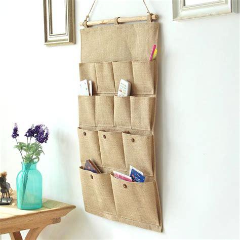 Bag Organizer Closet by 13 Pocket Wall Door Closet Hanging Storage Bag Organizer