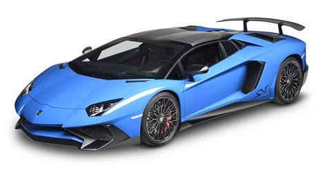 Blue Lamborghini Aventador Car Png Image Pngpix