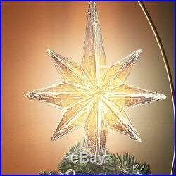 lighted moving tree topper kinkade moving lighted tree