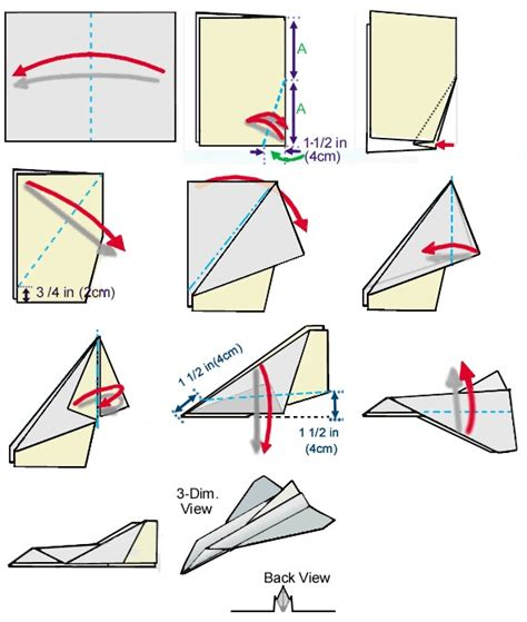 How To Make Different Paper Airplanes Step By Step - space shuttle paper airplane