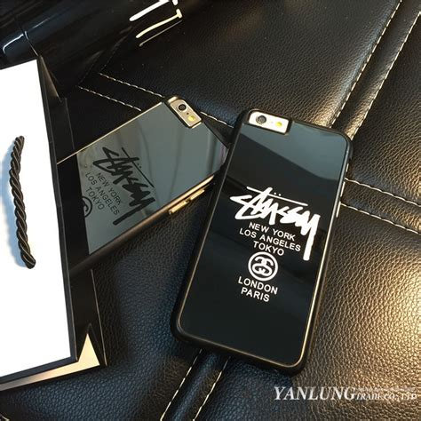 Iphone 6 6s Plus Stussy New York Los Angeles Tokyo Cover Casing kopen wholesale merk pc uit china merk pc