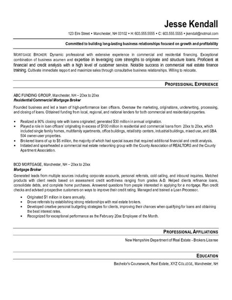 mortgage broker resume exle tammys resume resume exles and resume objective