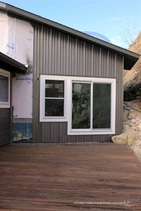Board And Batten Metal Siding - steel siding with a board and batten look home exterior