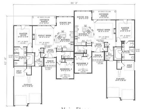 multi unit floor plans multi unit house plans home design brookshire 17646