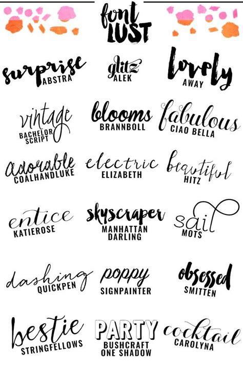 tattoo fonts handwritten the best handwritten script fonts for your fonts