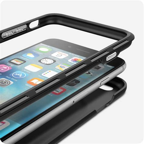 Hardcase Spigen Stand Iphone 6 4 7 spigen thin fit hybrid iphone 6s plus