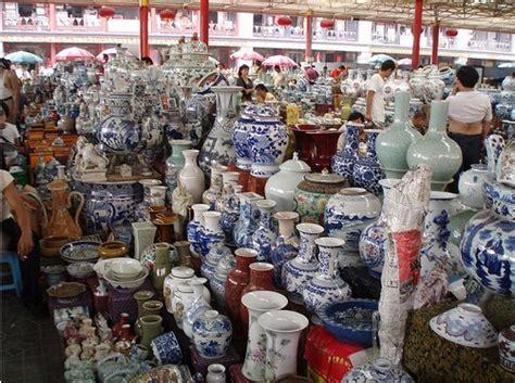 Chinese Floor Vases Beijing Porcelain Market Jingdezhen Porcelain Shop
