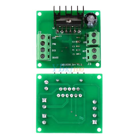 Mc33887apvw Chip Driver Motor H Bridge 5a lmd18200t dc motor driver module speed regulator board pwm
