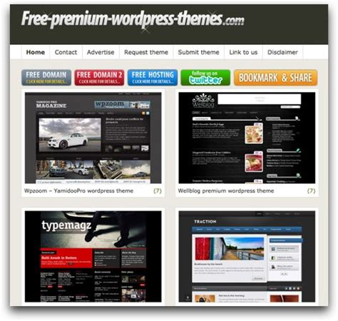 themes wordpress español premium temas premium para wordpress gratis