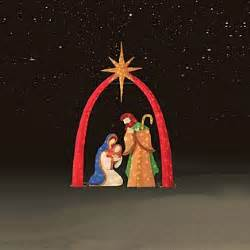 outdoor light up nativity light up chenille nativity religious