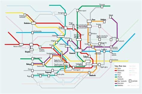tokyo metro map file tokyo subway metro map png