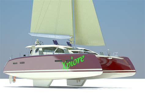 catamaran sails design x45 sail catamaran design andrei rochian 2015 boat