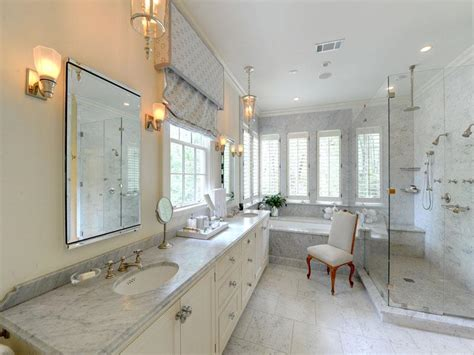 White Marble Bathroom Ideas White Bathroom Marble Countertops Interior Design Ideas