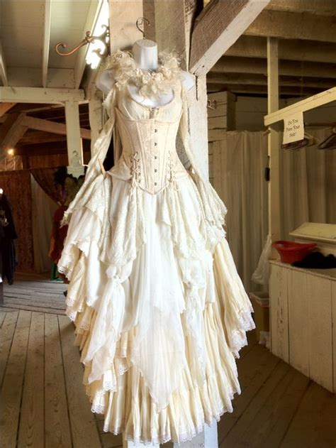 Renaissance wedding dress. You have to wear something