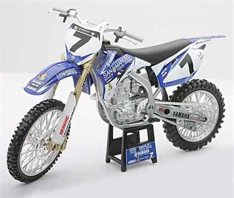 Diecast Cross Yamaha Yz450f yamaha yz450f stewart racing bike newray 1 12 diecast car scale model