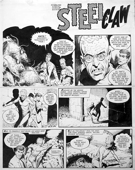 The Steel Claw full page 12 by Jesus Blasco at the