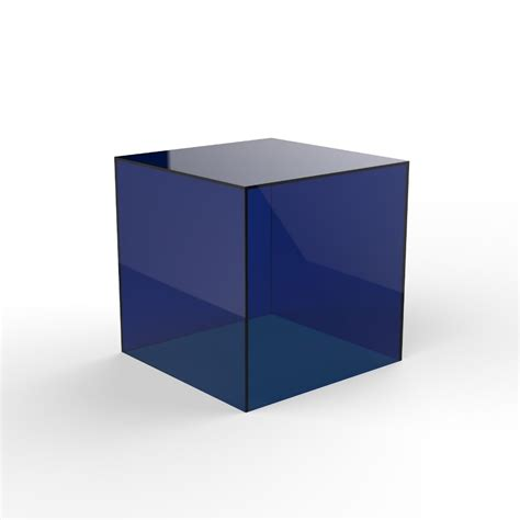 colored acrylic colored acrylic cube plexiglass plastic cube box buy