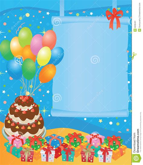 imagenes infantiles feliz cumpleaños tarjeta de cumplea 241 os imagen de archivo imagen 8036491