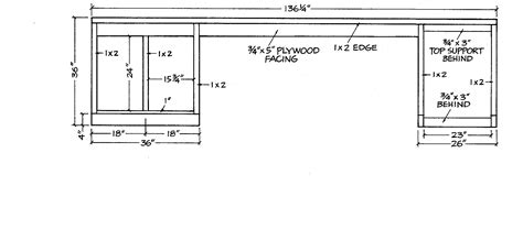 Kitchen Blueprints pdf diy free kitchen cabinet blueprints download free