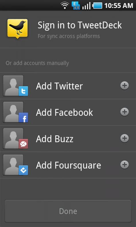 tweetdeck for android tweetdeck beta client for android leaked