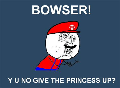 Y No Meme - y u no mario meme by offzone99 on deviantart