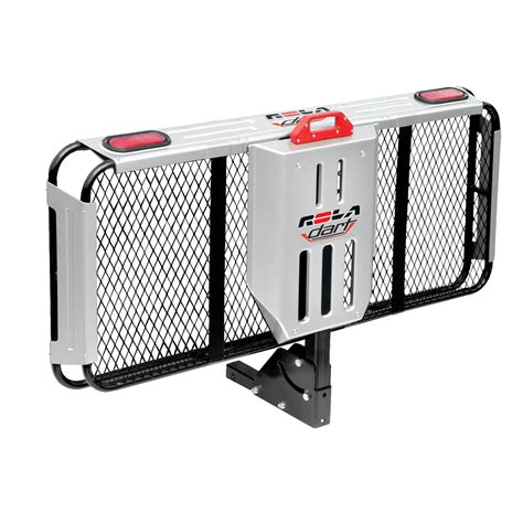 rola dart folding cargo carrier for 2 quot sq receivers w 5